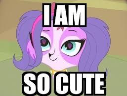So Cute Meme - i am so cute zoe trent meme by martinmouguelar on deviantart