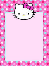 hello kitty birthday invitation template free www kudan info