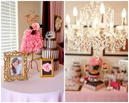 Kitchen Tea Ideas Themes Wedding Manequin Bridal Shower Juicy Couture Inspired Bridal