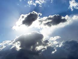 clouds and sun the positive encourager