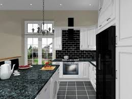 small modern kitchens designs black white kitchens ideas orangearts small modern kitchen design