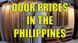 kitchen cabinet door price philippines door prices in the philippines