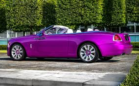 roll royce sport car rolls royce dawn in fuxia 2017 us wallpapers and hd images car