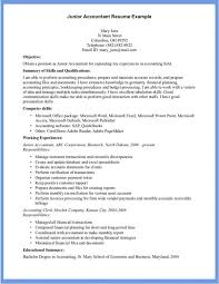 resume format for accountant delighted junior accountant resume sle photos resume ideas