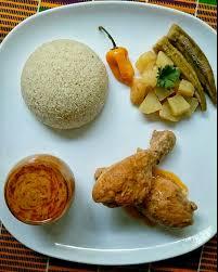 cuisine malienne mafé fonio sauce mafé poulet mali gabougouni