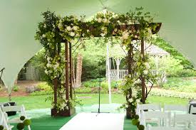 wedding arch grapevine