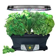 miracle gro aerogarden extra with gourmet herb seed pod kit 903300
