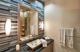 Backsplash In Bathroom Bathroom Mosaic Tile Backsplash