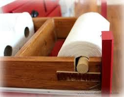 under counter paper towel holder hometalk