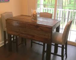 Drop Leaf Table And Chairs Drop Leaf Table Etsy