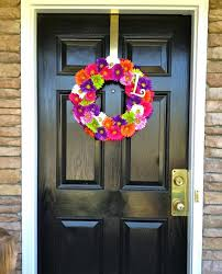 Front Door Decorations For Winter - spring door decor ideas front decorating for easter diy fall front
