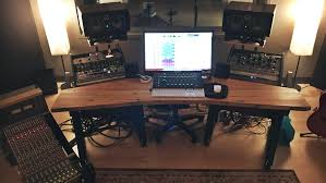 How To Build A Recording Studio Desk by Jim Stewart Recording Cleveland Area Producer Engineer Mixer