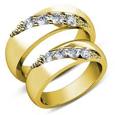 wedding rings gold wedding ring sets his and hers cheap simple unique wedding bands