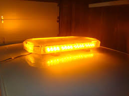 orange led light bar strobe lights for tow truck emergency vehicle warning light