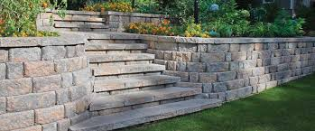 Retaining Wall Landscaping Ideas Designing U0026amp Endearing Retaining Walls Designs Home Design