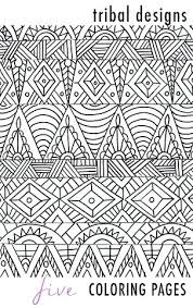 aztec coloring pages tribal coloring pages designs 5 elephant