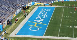 game design los angeles chargers unveil los angeles inspired endzone design for the win