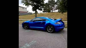 mitsubishi eclipse 2016 amazing chrome mitsubishi eclipse 4g satin blue chrome frozen blue