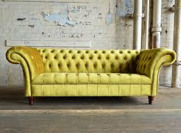 Handmade Chesterfield Sofas Uk Geneva Velvet Chesterfield Sofa Abode Sofas