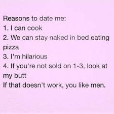 Reasons To Date Me Meme - dopl3r com memes reasons to date me 1 i can cook 2 we can