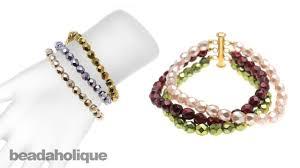 instructions for making the ashley multi strand bracelet kit youtube