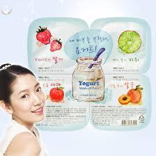 Yogurt Untuk Masker Wajah etude yogurt wash pack masker wajah dengan wangi buah2 an