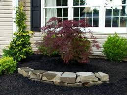 exterior landscaping ideas for small front yard townhouse low