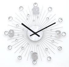 horloge de cuisine design pendule design cuisine horloge murale argentace acier rochefort