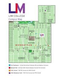 Radio City Music Hall Floor Plan lim college campus map by limcollege issuu