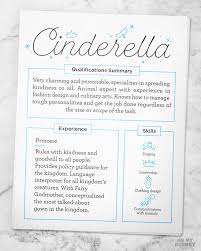 Disney Resume Example by Imaginary Disney Character Resumes That Will Make You Want To Hire