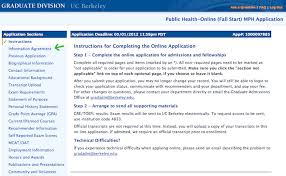 application process uc berkeley online masters in public health