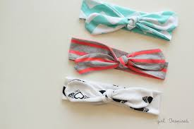 how to make a baby headband knot headbands diy girl inspired