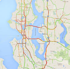 seattle map traffic here s what messed up your seattle area commute thursday morning
