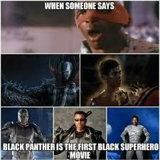 Meme Black - black superhero meme