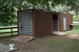 backyard horse barns shipping container barn idea pinteres