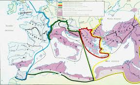 Roman World Map by The Roman World