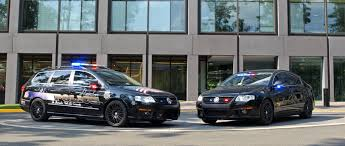 volkswagen passat modified volkswagen provides apr tuned police cars to local police