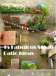 best small outdoor patio ideas 9 exciting outdoor patio design