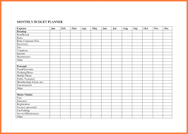 Business Expense Template For Taxes by 8 Monthly Expenses Spreadsheet Template Excel Spreadsheets