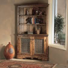 Kitchen Hutch Furniture Custom Corner Hutch Southwest Furniture Santa Fe Style