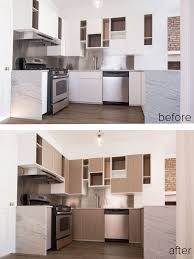 Kitchen Before And After by Kitchen Kitchen Before And After Cheap Kitchen Renovation