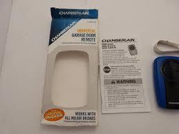 chamberlain klik1u clicker transmitter universal garage door remote control chamberlain universal klik3u garage door opener remote for