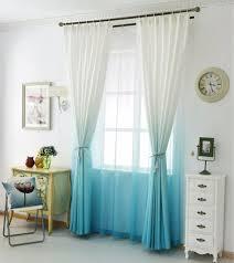 Blau F Schlafzimmer Aliexpress Com Farbverlauf Vorhänge Für Wohnzimmer Baumwolle