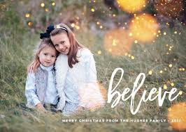 believe christmas card photo cards whimsical christmas