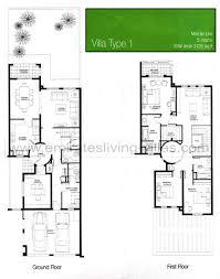 villa floor plans the springs floor plans emirates living