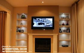 Remodelaholic Build A Custom Corner Wonderful Built In Wall Shelves Exquisite Design Remodelaholic