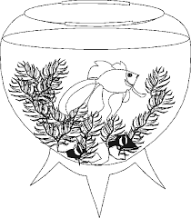 aquarium coloring page coloring page aquarium coloring pages 7