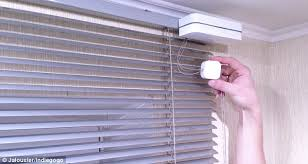 vertical blinds amazon black friday make your blinds smart clip on gadget automatically adjusts