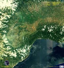 Map Of France And Italy by Sentinel 2a Satellite Image Nw Italy S France Satellite Imaging Corp