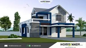 Free House Designs Modern Stylish 3 Bhk Small Budget 1500 Sqft Indian Home Design